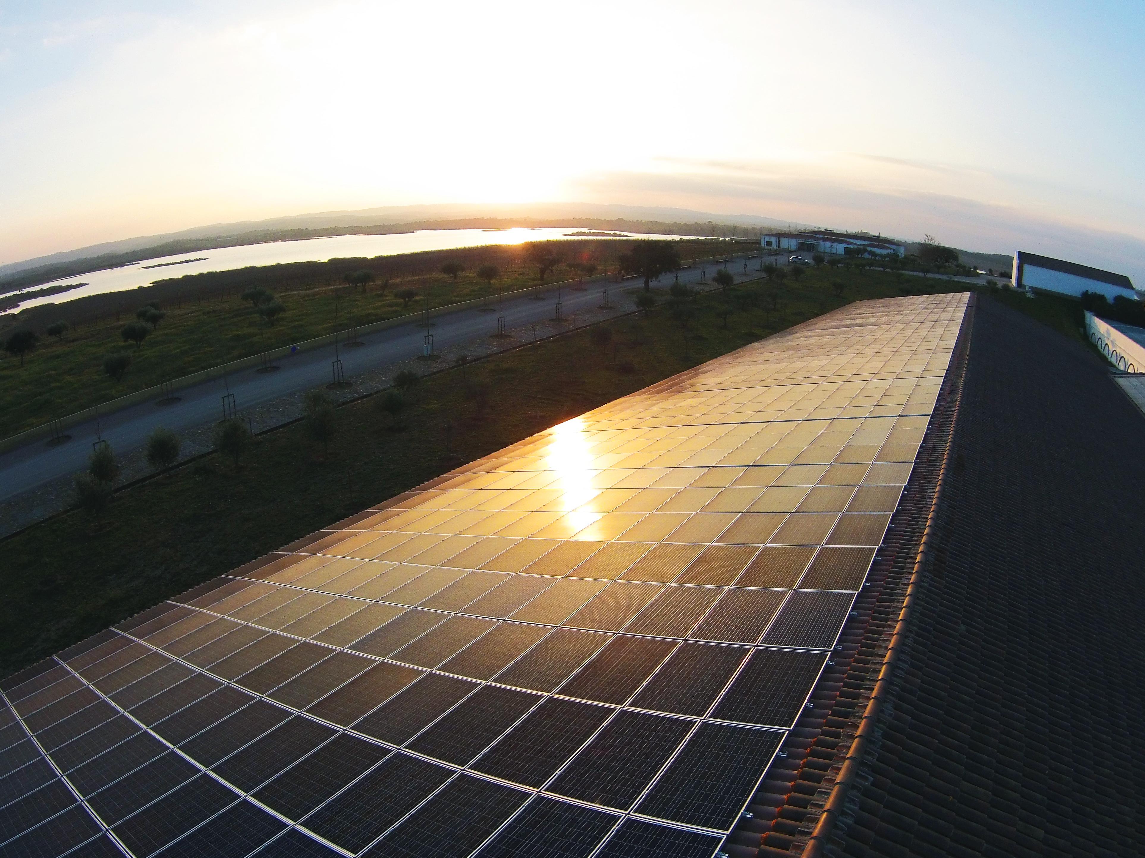 Painel solar Herdade Esporao