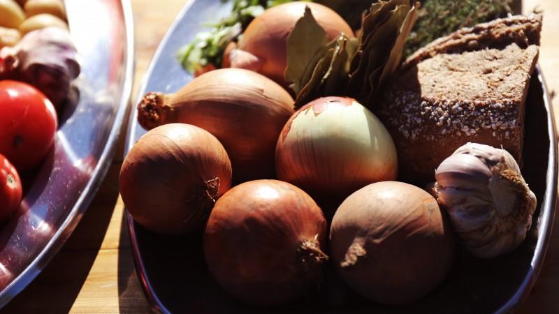 ingredientes cebolas