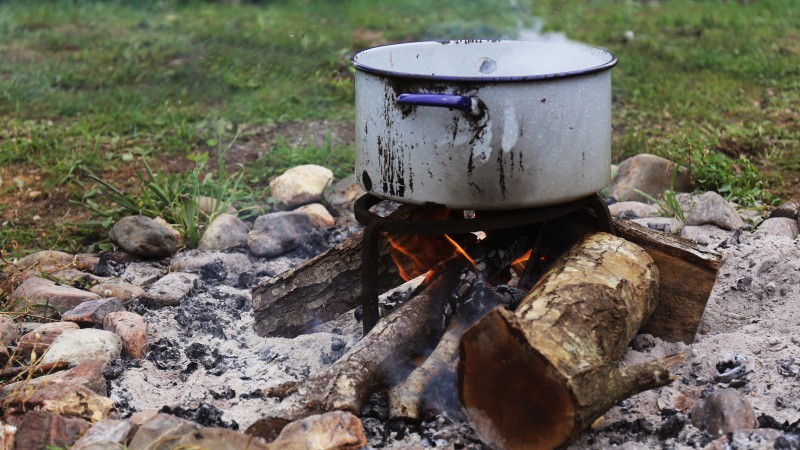 cozinhar lenha