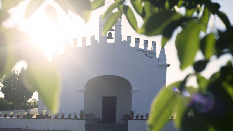 capela pela manhã