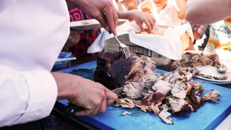porco forno a lenha