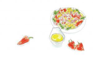 Esporao planner august recipe summer salad