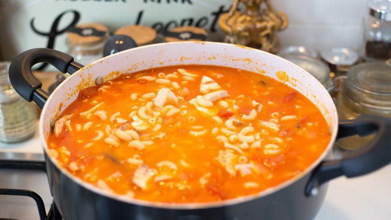 Assobio with Fish Stew Pasta 11